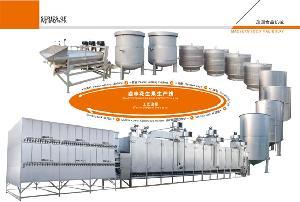 卤味花生果机械生产线