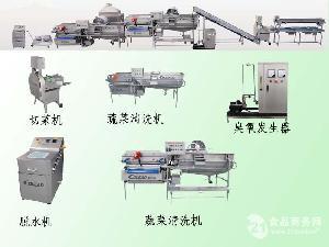 净菜加工设备 蔬菜加工设备 蔬菜清洗设备