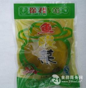 德阳酸菜鱼泡菜厂家