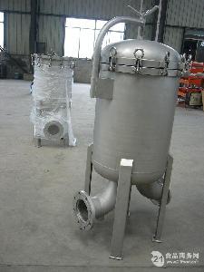 优质食用油袋式过滤器