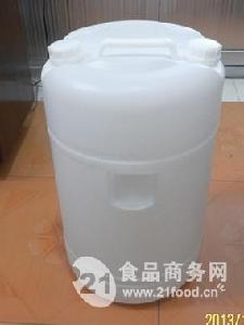 白色双闭口60L塑料桶