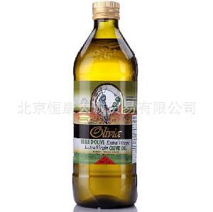 进口原装圣玛仕格特级初榨橄榄油1L 瓶