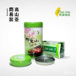 天润茗廷 正品台湾阿里山乌龙茶 150g/罐