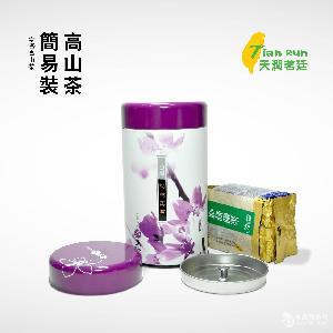 台湾杉林溪乌龙茶2铁罐装300克配精美手袋