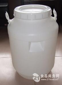 75升白色食品级塑料桶