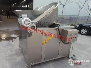 国邦牌导热油炉加热全自动搅拌油炸锅
