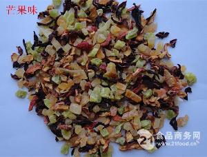 芒果味果粒茶