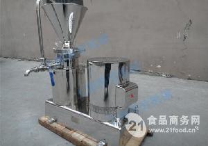 厂家直销不锈钢粉碎设备胶体磨