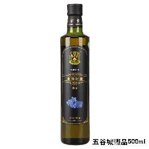 500ML冷榨*单瓶一级亚麻籽油