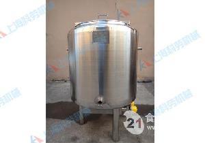 500L不锈钢搅拌罐