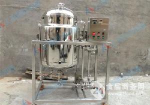100L小型单罐鲜奶巴氏杀菌机