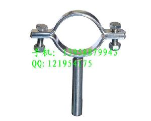 不锈钢卫生级管支架管夹管托