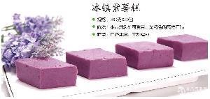 冰镇紫薯糕