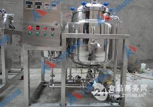 150L新型单罐鲜奶巴氏杀菌机