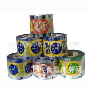 膨化食品彩印自动包装卷膜