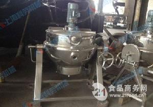 小型可倾式电加热夹层锅