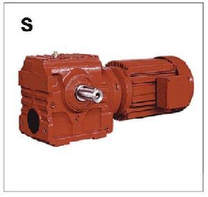 S斜齿轮蜗杆减速机速博雷尔减速机