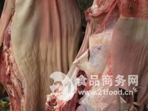 冷冻带皮驴肉