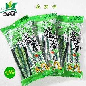 食得福24g袋装番茄味海苔卷