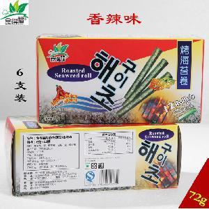 食得福72g香辣味海苔卷