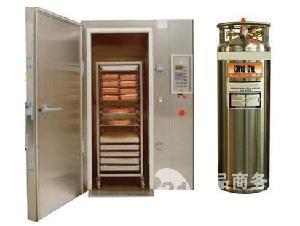 重庆羊肉速冻机液氮柜式速冻机