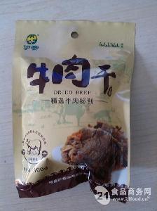 伊赛清真优质休闲零食牛肉干100g/袋