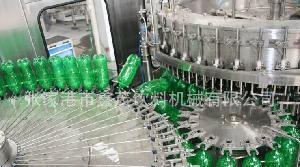 瓶装碳酸饮料灌装设备生产线