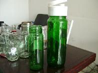 500ml-750ml喷涂梅酒玻璃瓶