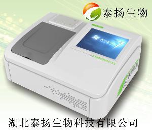 泰扬多功能食品安全快速分析仪硼砂检测仪器
