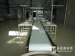 分割肉加工生产皮带输送线
