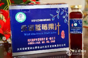 永富牌蓝莓方瓶果汁