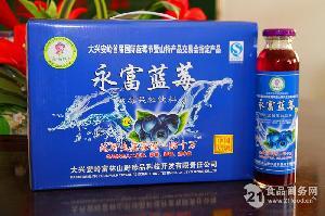 永富牌蓝莓果粒饮料300ml*10瓶