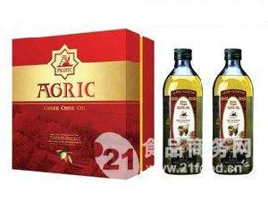 希腊阿格利司特级初榨橄榄油1000ml*2礼盒
