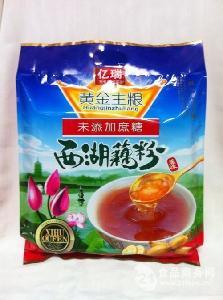 亿瑞700克无蔗糖西湖藕粉