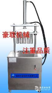 供应猪蹄劈半机、烤猪蹄专用劈半设备