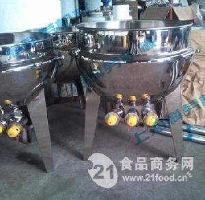 300L电加热可倾式夹层锅