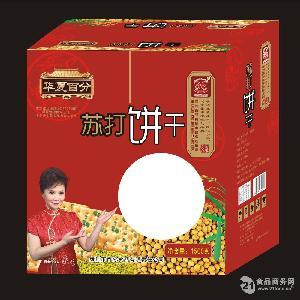 华夏百分苏打饼干(无蔗糖)
