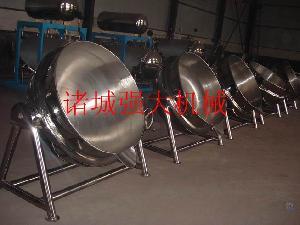 新型号夹层锅导热油夹层锅燃汽夹层锅
