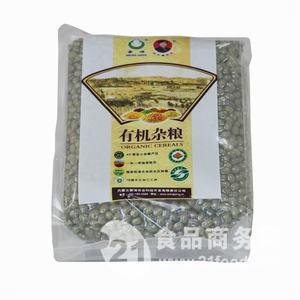 蒙清有机绿豆