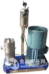 三级管线式高剪切分散乳化机
