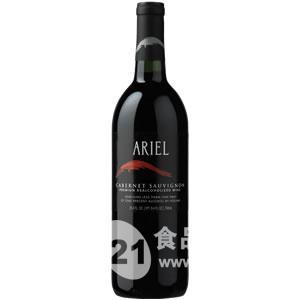 美国爱丽尔无醇赤霞珠红葡萄酒