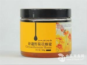 新疆野菊花蜂蜜
