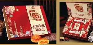 粤皇祈福金秋月饼礼盒