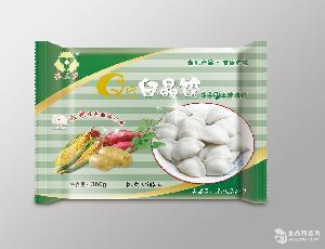 Q皮白晶饺 韭菜鲜土猪肉馅 全国隆重招商!