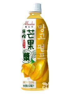 雅乐佳原榨芒果浆四季畅饮果汁饮料500ml