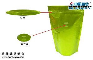 咖啡袋(带单向出气阀)真空袋