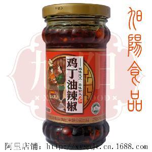 旭阳鸡丁油辣椒248g