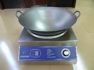 台式凹面电磁炒炉