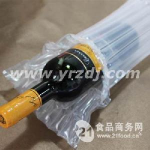 营润红酒包装充气薄膜袋