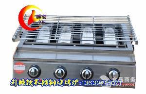 四头多功能液化气烧烤炉